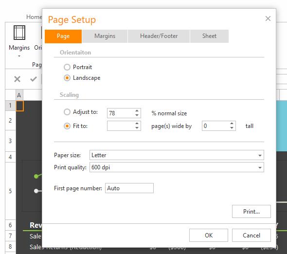 Asp Spreadsheet