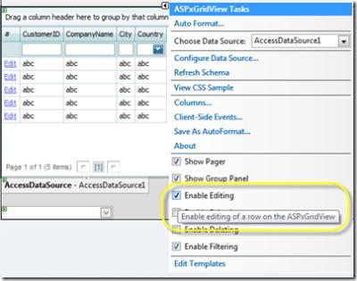 ASPxGridView FAQ: How to Enable Editing | MehulHarry com