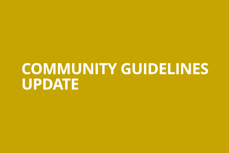 DLive Community Guidelines Update · DLive Community