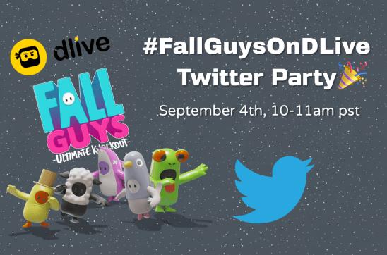FallGuysOnDLive Twitter Party