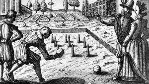 Elizabethans bowling, from http://www.bbc.co.uk/learning/schoolradio/subjects/history/tudors/sketches_clips/work_and_play (BBC 2010).