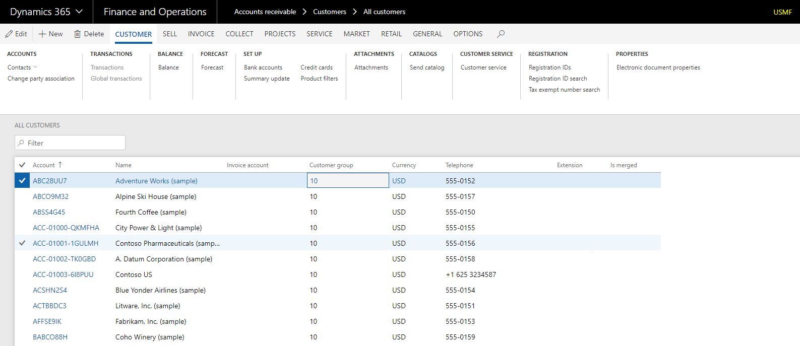 Supporting multiple Dynamics 365 for Finance and