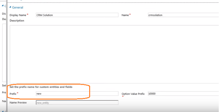 How can i create new field in crm entity without