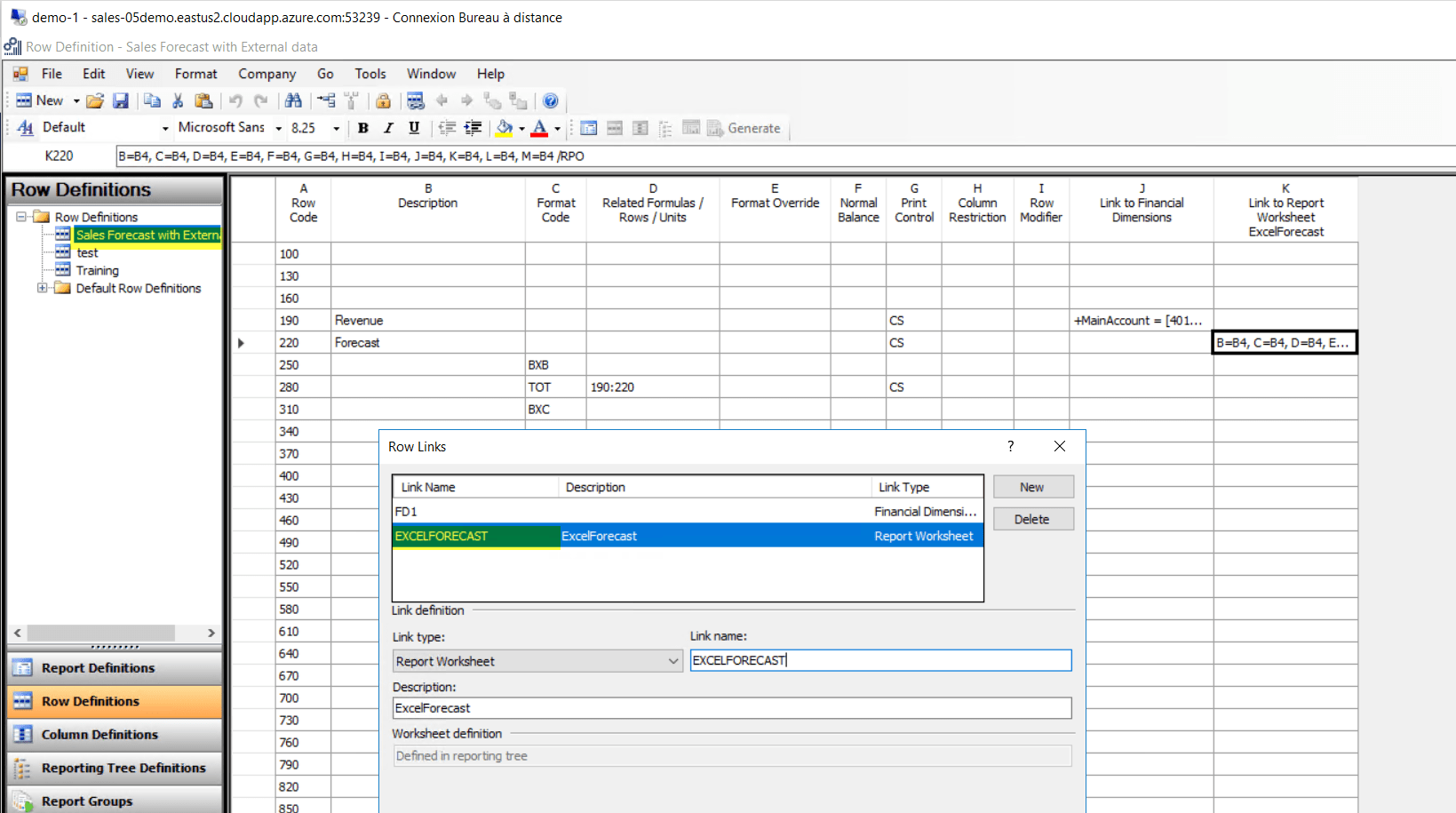 Connect External Worksheet Excel To Management Reporter
