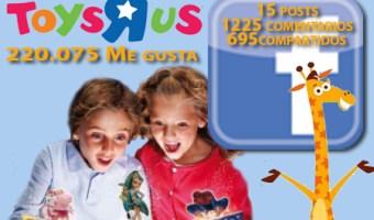 """La ilusión de la navidad de Toys """"R"""" Us en Facebook"""