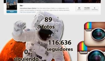 La Estación Espacial nos acerca las estrellas en Instagram