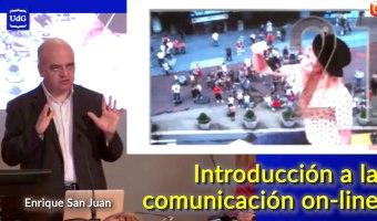 Introduccion a la comunicacion on-line enrique san juan universitat de girona