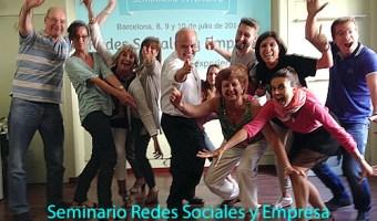 Seminario redes sociales y empresa barcelona julio 2014 enrique san juan community internet
