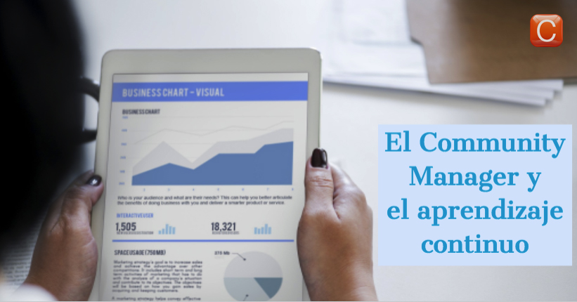 community manager aprendizaje continuo community internet