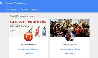 Cómo administrar páginas de empresa en el nuevo Google+
