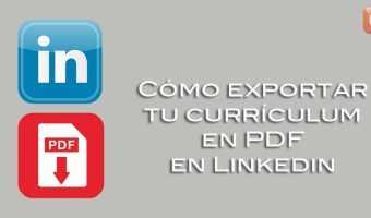 como exportar tu curriculum en PDF en Linkedin community internet