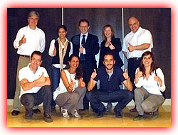 Integrantes de un curso intensivo y profesional de marketing online realizado en Barcelona.