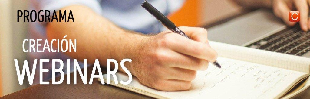 curso de creación de webinars programa 700 mano