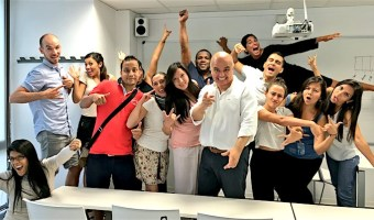 Sesiones de social media de Enrique San Juan en el Master de Turismo Internacional