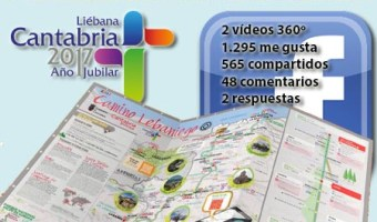 infografia Cantabria turismo en Facebook Video 360 grados community internet the social media company