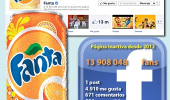 infografia Fanta en Facebook community internet the social media company