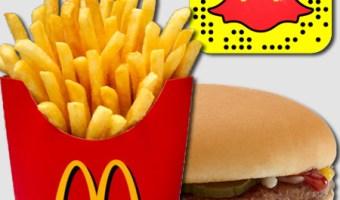 infografia Mcdonalds Snapchat analisis community internet the social media company