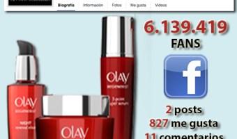 infografia Olay Facebook community internet the social media company