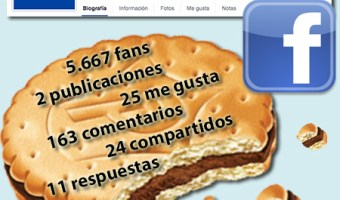 infografia galletas principe en Facebook. Analisis servicio community manager. community internet the social media company