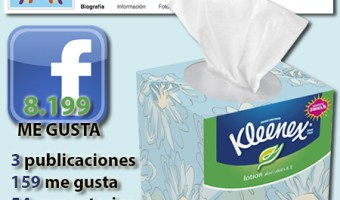infografia kleenex Facebook community internet the social media company