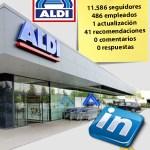 Aldi España y el reto de potenciar el engagement en LinkedIn