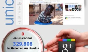 infografia unicef Google+ community internet social media redes sociales community manager