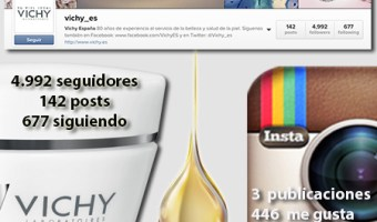 infografia vichy Instagram community internet the social media company