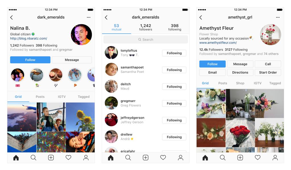 nueva biografia perfiles instagram community internet