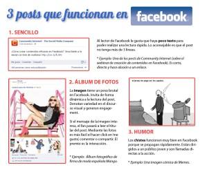 posts que funcionan en facebook community internet redes sociales social media