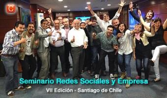 Éxito de la VII Edición del Seminario Redes Sociales y Empresa en Chile