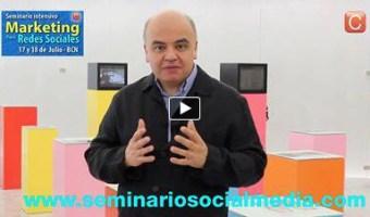 video promocional seminario marketing digital para redes sociales community internet enrique san juan