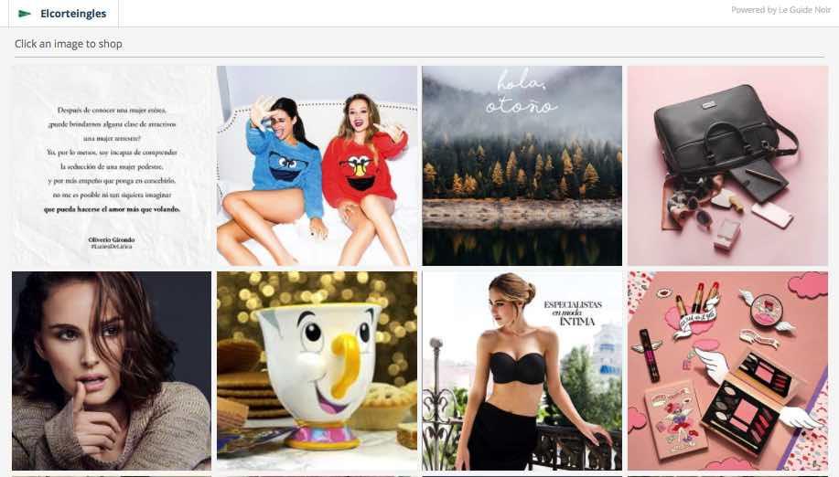 web fotos productos instagram analisis community internet