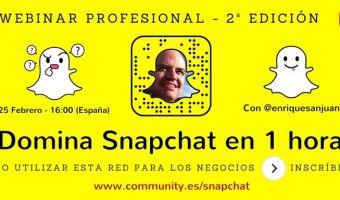 Domina Snapchat en 1 hora
