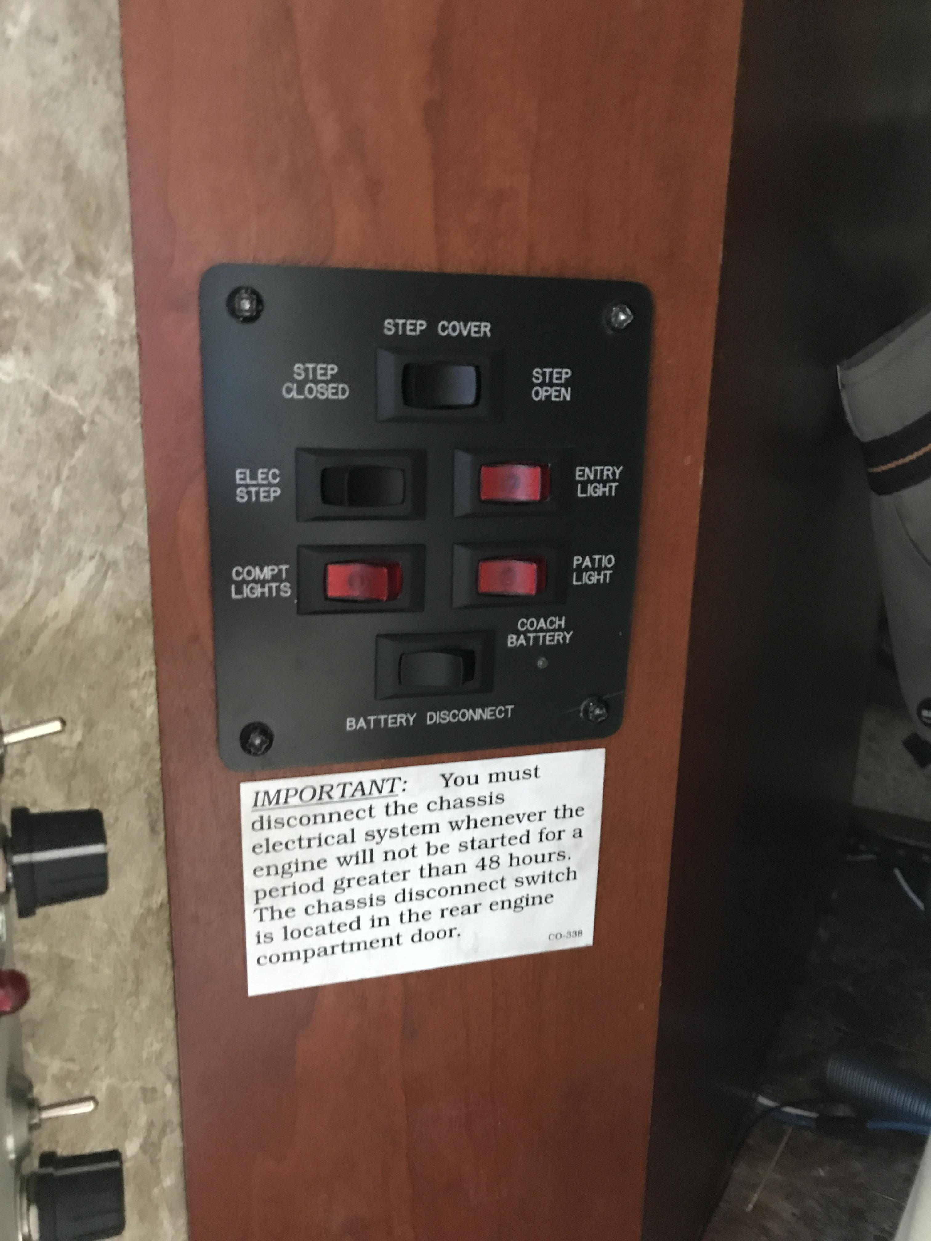 power to light then switch diagram hino 500 wiring battery disconnect - electrical fmca motorhome forums