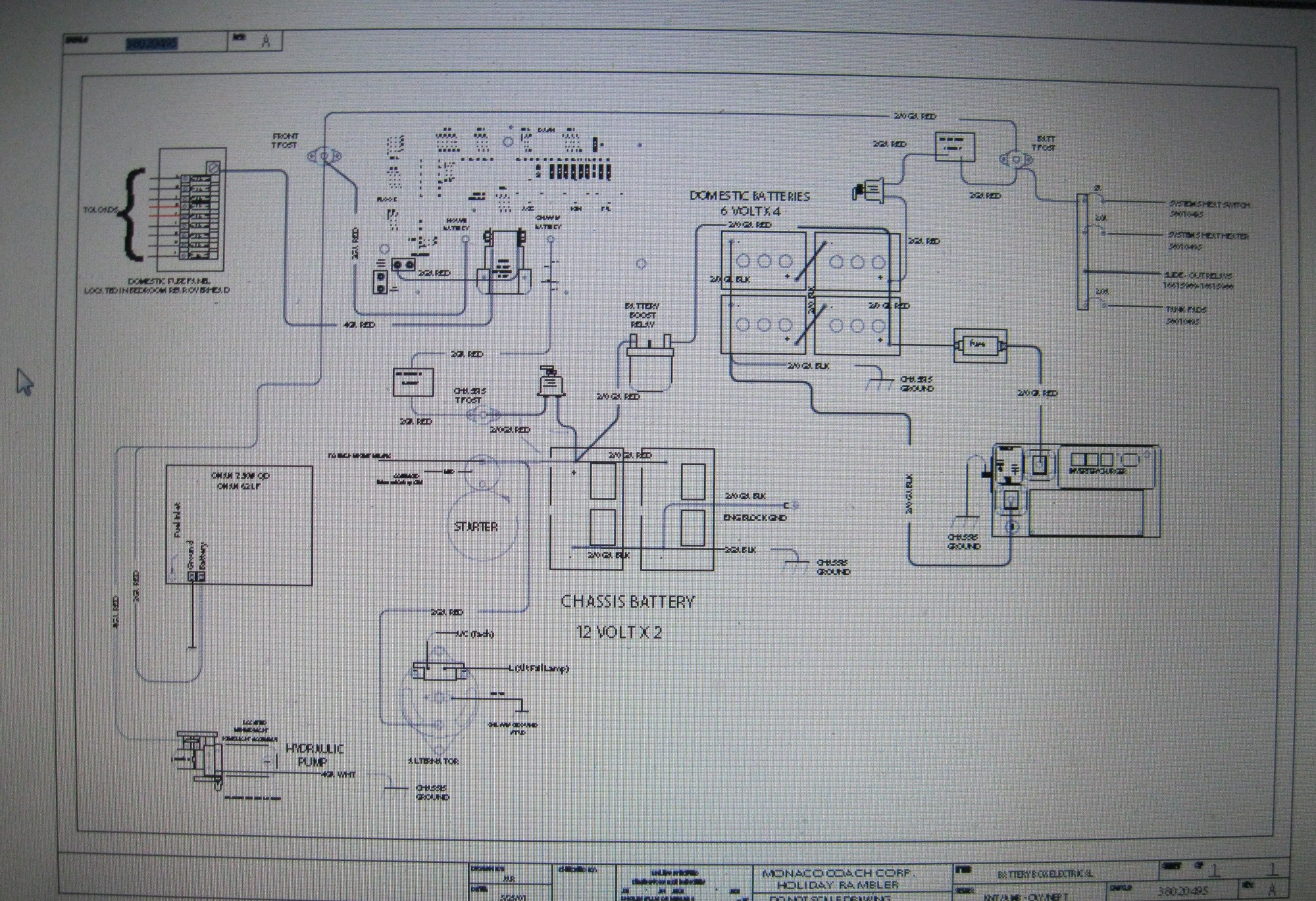 hight resolution of electrical wiring of 12 volt system jpg