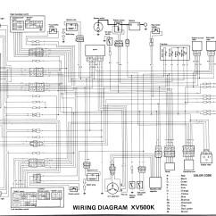 Yamaha Virago Xv 535 Wiring Diagram Les Paul Modern 1986 700 Xv535 Great Installation Of Images Gallery