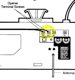 chamberlain lift master model 1160lm [ 1100 x 941 Pixel ]