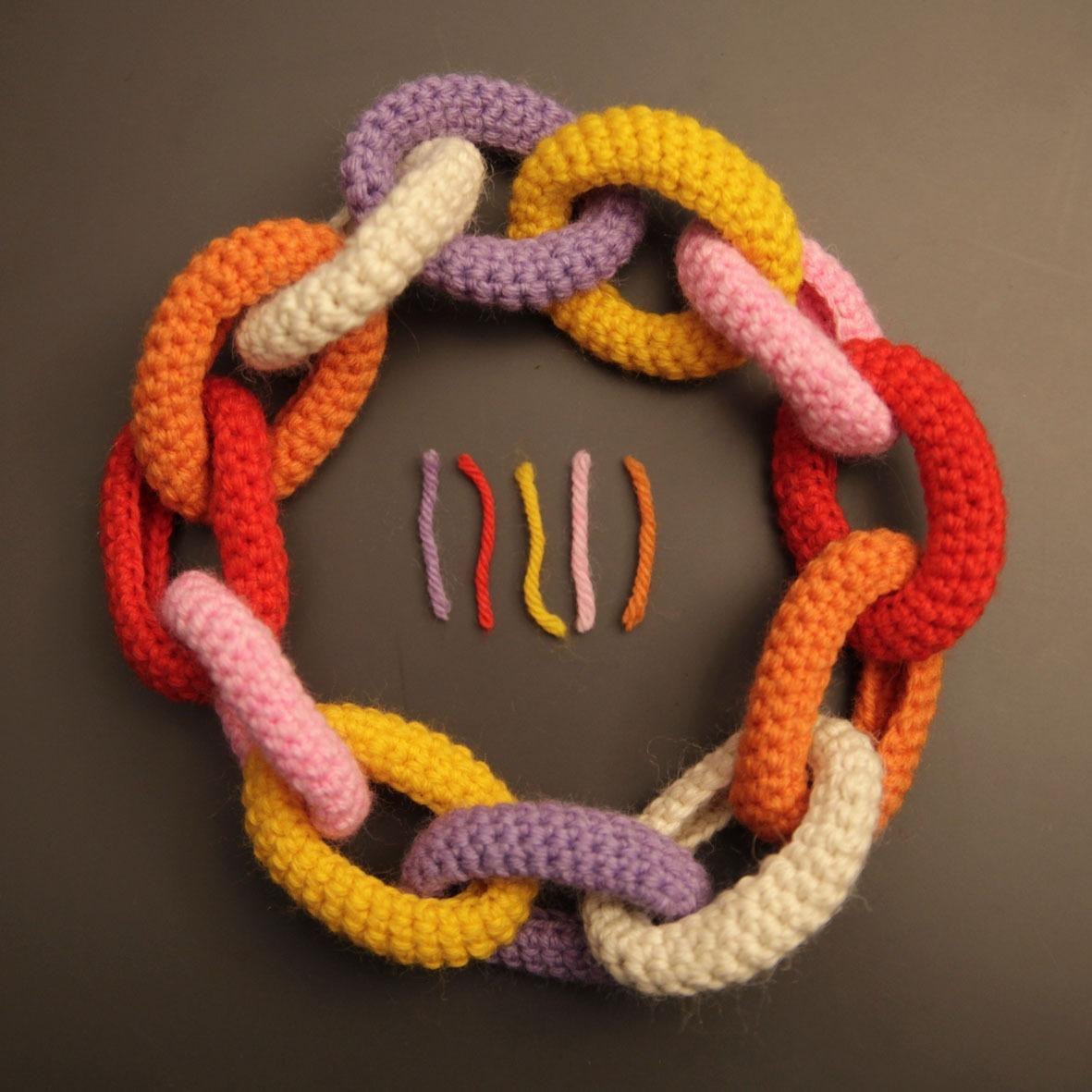 Collane creative in lana fai da te  Video Blog Gioielli e Bijoux