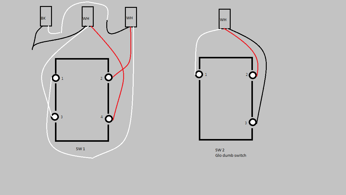 Inovelli Black 3-way switch unusual wiring help requested