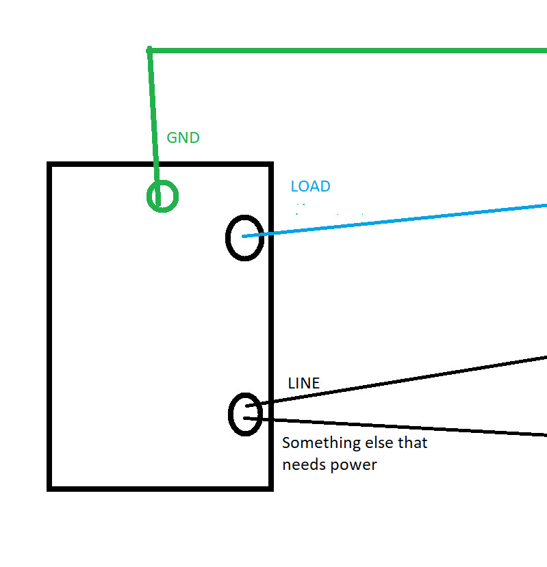 Simple single pole non-neutral setup for 3 ceiling lights