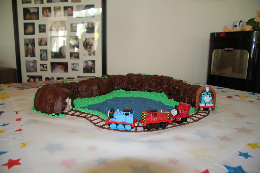 Thomas The Train Cake Allergen Friendly Kids With Food