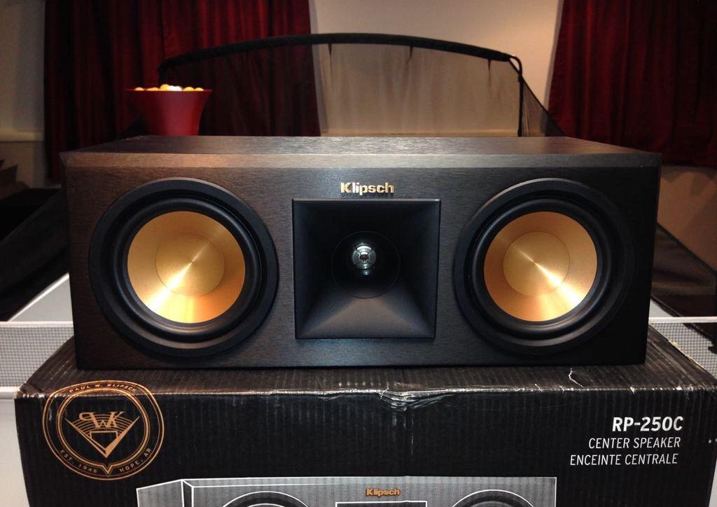 SOLD Klipsch rp 250c  Garage Sale  The Klipsch Audio