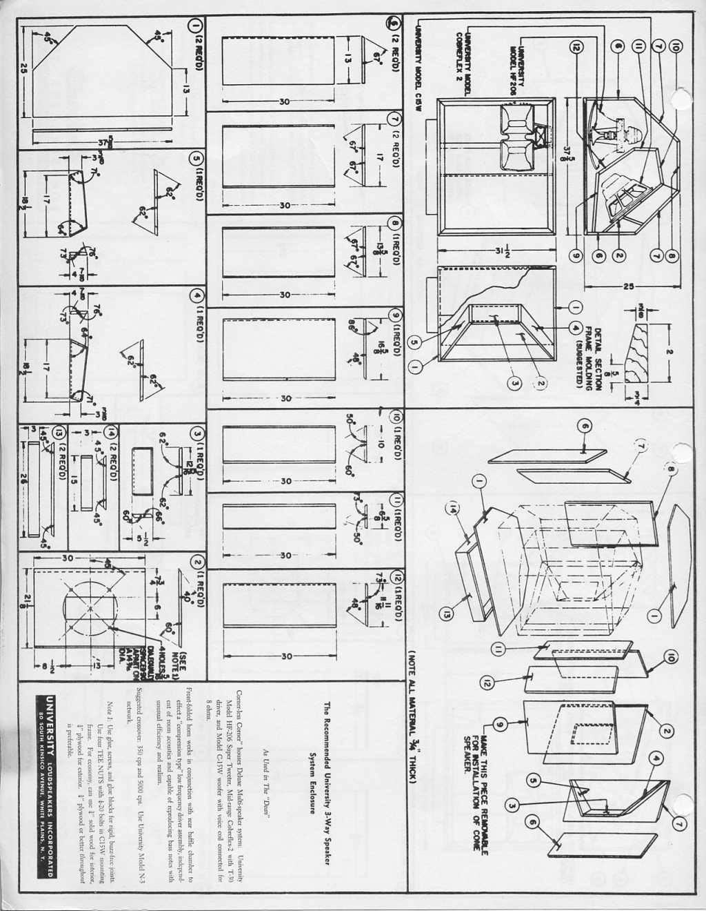 University Classic Corner Plans