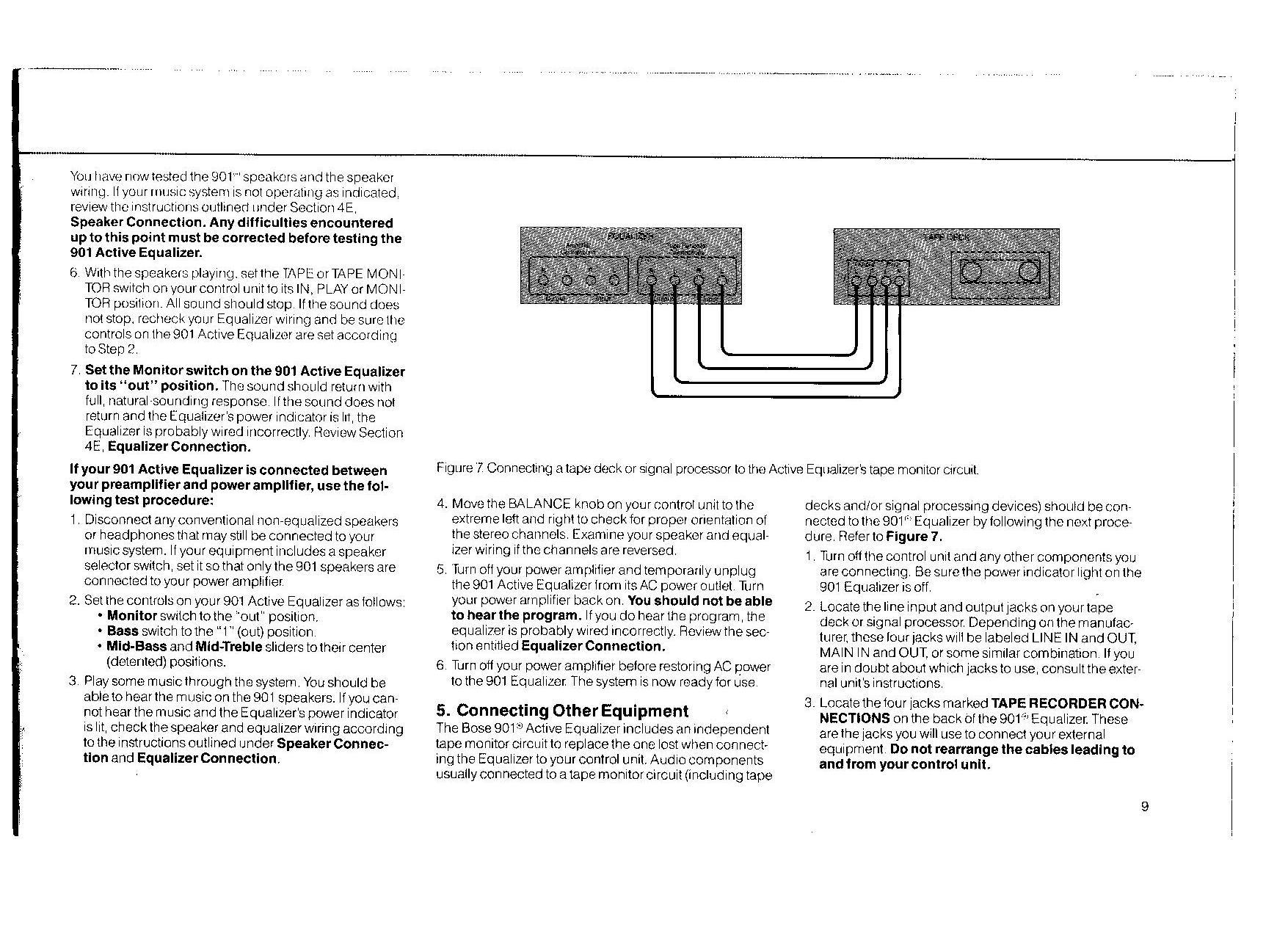 hight resolution of hooking up bose 901 wiring diagram
