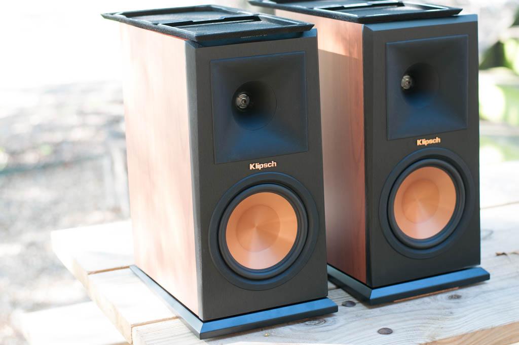 SOLD Klipsch RP160M bookshelf speakers cherry  Garage