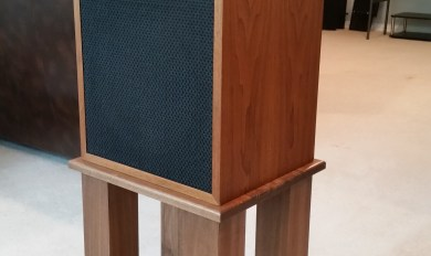 Custom Wood Audio Stands | Wooden Thing