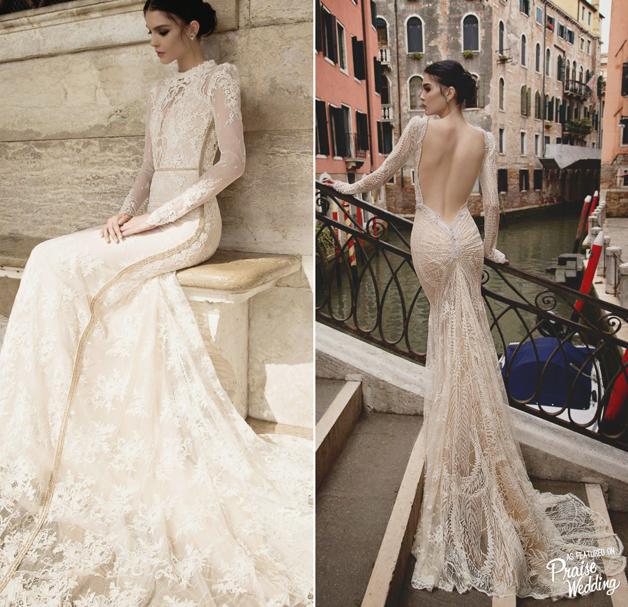 Gushing over these stylish and chic Inbal Dror 2015 fitted