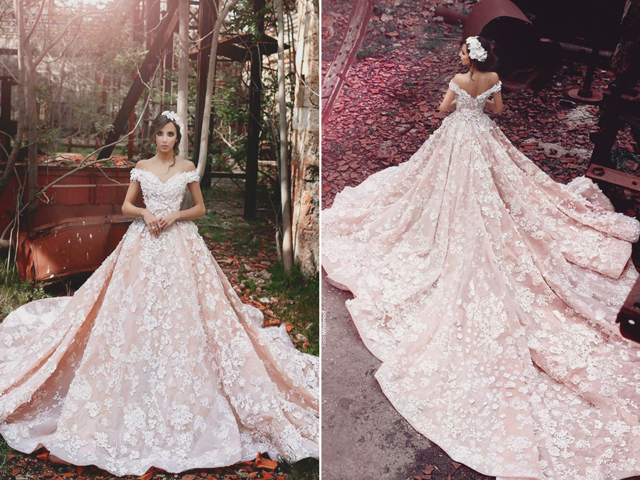 Splendidly Romantic And Charmingly Pretty This Pink Lace
