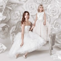 Yulia Prokhorova dreamy bridal gown filled with 3D flowers