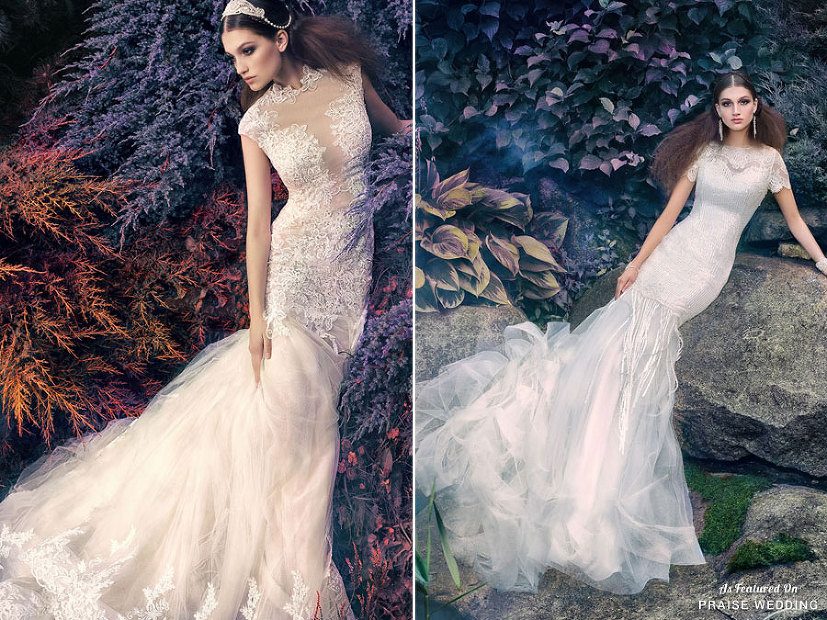 Whimsical Ethereal Wedding Gowns From Papilio's Latest